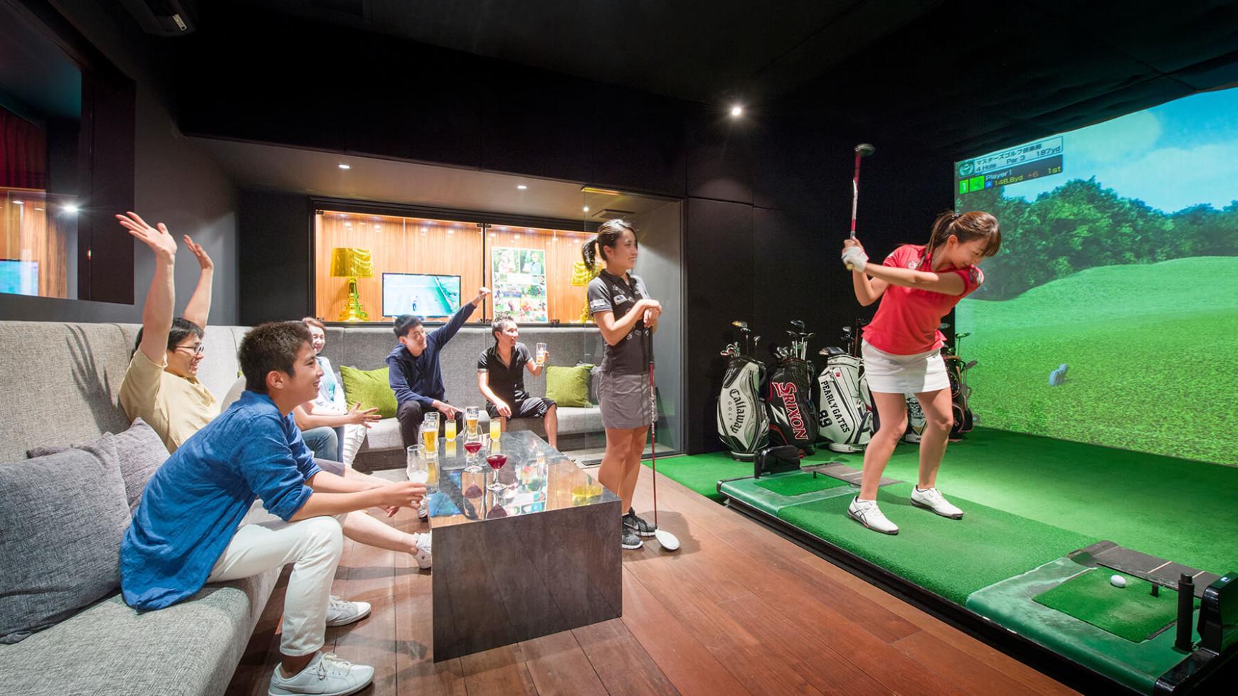 ゴルフ シュミレーション ゴルフシミュレーションスタジオ DIGITAL